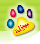 happypaws logo